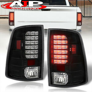 Black Replacement Led Brake Tail Lights Lamps For 2009 2018 Ram 1500 2500 3500