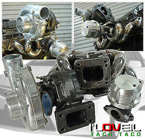 Top Mount Manifold T3 t4 Turbo External Wastegate For Nissan 240sx Ka24 S13