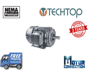 20 Hp Electric Motor 1200 Rpm 286t 230 460v 3 phase Rigid Cast Iron