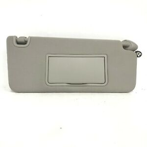 2016 2017 2018 Honda Civic Sunvisor Passenger Right Sun Visor Gray With Light