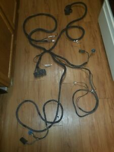 Used Boss 13 Pin 4 Relay ford Snow Plow Wire Harness