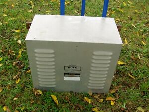 Ronk 240 Volt 5 To 7 5 Hp Add a phase Static Phase Converter Model 80a Type 2s