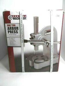 Central Machinery 1 Ton Arbor Press All Metal Construction Item 03552