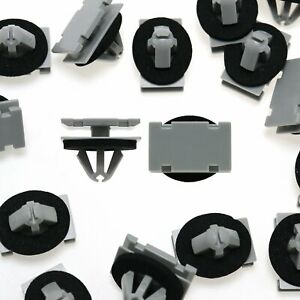 50pcs Rocker Panel Moulding Clip Exterior Trim Fastener For Gm For Jeep Cherokee
