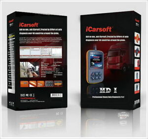 Icarsoft Hd I Hdi Heavy Duty Commercial Truck Obdii Diagnostic Scanner Dtc Reset