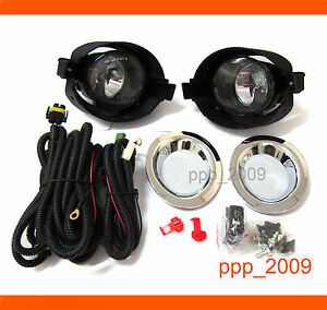 Fog Driving Light Lamp Kits Oem 2010 2011 2012 For Nissan Micra March K13 Fit