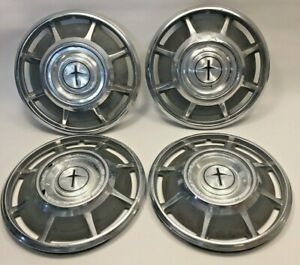 Vintage 66 67 68 69 4 Chevy Corvair Monza Hub Caps 13 Wheel Covers