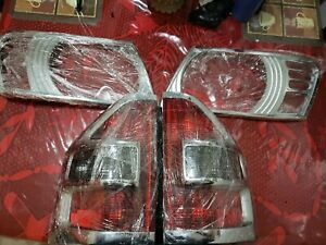Mitsubishi Montero Limited 20012006 Tails Lights With Front Headlights Chrome