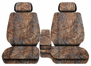 Car Seat Covers Camo Reeds Fits Toyota Tacoma2001 2004 Front Bench 60 40 2hr
