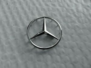 New For Mercedes 52mm Chrome Steering Wheel Emblem Badge Free Us Shipping