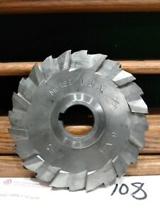 Horizontal Milling Cutter 6 x1 2 x1 1 4 Mill Machinist Morse H s Nice