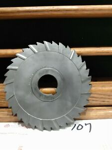 Horizontal Milling Cutter 6 x3 8 x1 1 4 Mill Machinist H h s Nice