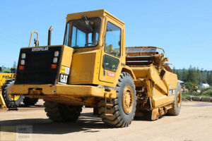 2004 Cat caterpillar 613c Series 2 Scraper Cab Heat ac Tier 2 5000hrs Clean
