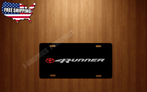 4runner Vehicle Front Back License Plate Auto New Tag Fits Toyota Trd