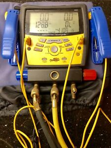Fieldpiece Sman3 Digital Manifold Vacuum Gauge With Hoses And Clamps