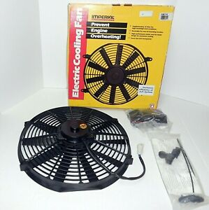 Imperial Automotive Electric Fan 14 Diameter 12 Volt Push Or Pull 226114 Usa