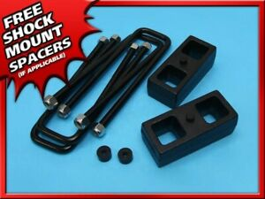 2 Inch Rear Steel Leveling Lift Kit Fits 95 99 Chevy Tahoe 1500 4x2 4x4