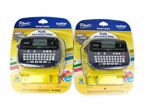 New Lot Of 2 Brother P touch Pt 45m Handheld Label Maker