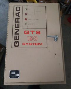 1 Used Generac 0122 0 Gts 150 Transfer Switch 150amp make Offer