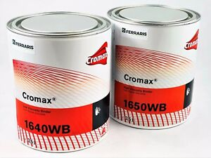 Resin Dupont Cromax W1640 W1650 Binder For Painting Water Base Coat 2 X 3 5 Lt
