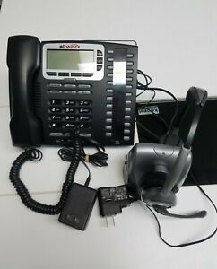 Allworx 9212 Voip Poe 12 line Display Office Phone Power Supply Included