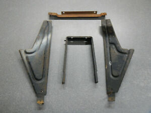 1963 Buick Riviera Console Mounting Brackets To Dash To Floor 4 Piece Front 63