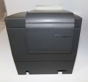 Toshiba Ibm 4610 1nr Gray Point Of Sale Thermal Printer Good Condition