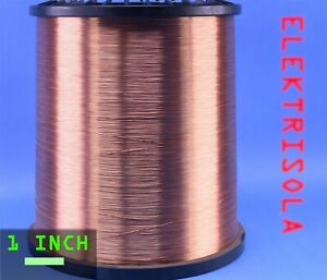 Elektrisola 30awg Magnet Wire Net 40 Lbs Polysol P155 0 0116mm Heavy Build
