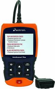 Actron Cp9680 Autoscanner Plus Obd Ii Scan Tool Includes Abs And Airbag Features