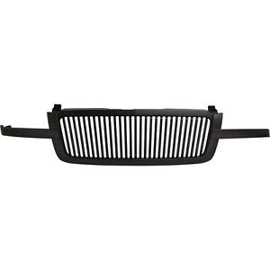 New Grille Assembly Black Full Size Truck Chevy Chevrolet Silverado 1500 3500