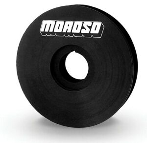 Moroso 4in V belt Crank Pulley 23523