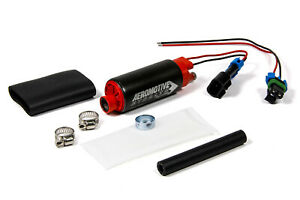 Aeromotive 340 Stealth Fuel Pump Center In offset Out E85 11569