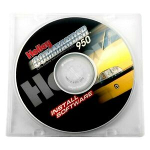 Holley 534 191 Commander 950 Pro Software Upgrade