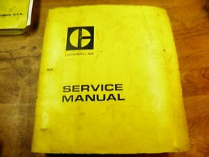 Cat Caterpillar 980b Wheel Loader Service Manual Book 89p1 up