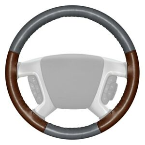 For Dodge Ram 3500 94 97 Steering Wheel Cover Eurotone Two color Gray Steering