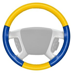 For Dodge Ram 1500 98 04 Steering Wheel Cover Europerf Perforated Yellow