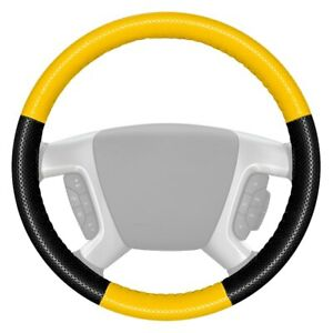 For Dodge Ram 3500 94 97 Steering Wheel Cover Europerf Perforated Yellow