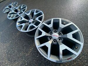 20 Gmc Sierra Yukon At4 6x5 5 Tahoe Chevy Oem Factory Stock Wheels Rims Denali