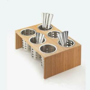 Cal mil 1425 6 60 6 hole Bamboo Cylinder Holder