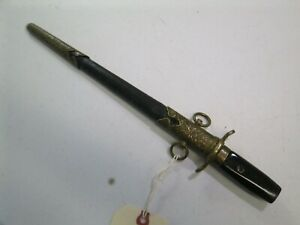Wwii Japanese Samurai Navy Officers Tanto Sword With Scabbard No Blade S9
