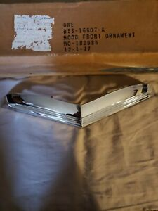 1955 1956 1957 Ford Thunderbird Original Front Hood Scoop Grille Ornament