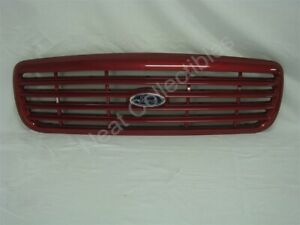 Nos Oem Ford Crown Victoria Lx Sport Grille With Emblem 2001 Toreador Red