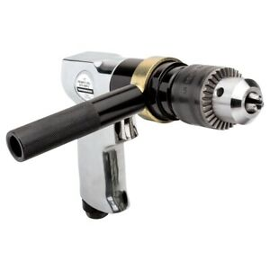 Rockwood 1 2 Inch Air Reversible Pneumatic Gun Drill Variable Speed Throttle