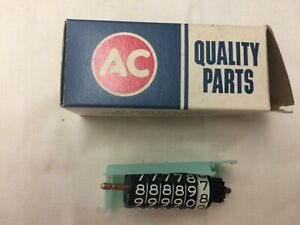 Nos 1961 1970 Chevrolet Truck Ac Speedometer Odometer Roll Assy P n 6496557