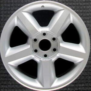 Chevrolet Avalanche All Silver 20 Inch Oem Wheel 2007 To 2009