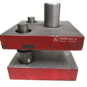 New Accurate 0604e1 Punch Press Die Set