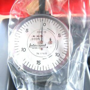 New Interapid 312b 15 Test Indicator Only 0005 060 0 15 0