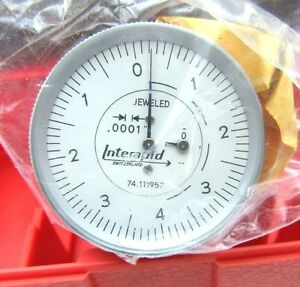 New Interapid 312b 3v Vertical Test Indicator Only 0001 016 0 4 0