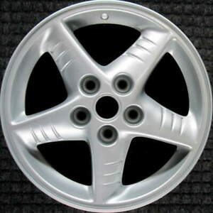 Pontiac Grand Am All Silver 16 Inch Oem Wheel 1999 To 2005