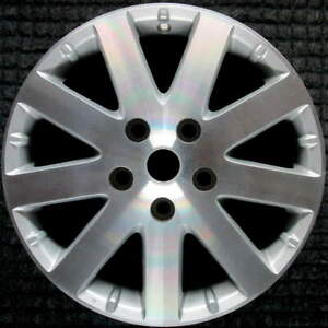Chrysler Town And Country Machined W Silver Pockets 17 Inch Oem Wheel 2008 20
